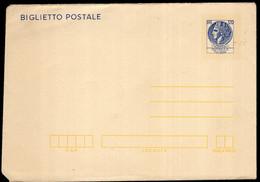 Italia - Circa 1980 - Biglietto Postale - A1RR2 - Interi Postali