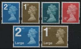 Großbritannien 2006 - Mi-Nr. 2430-2435 ** - MNH - Freimarken- Queen Elizabeth II - Ongebruikt