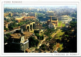 (5 A 7) Italy - Roma Foro Romano  (posted To Australia With VATICAN Stamp) - Monumenti