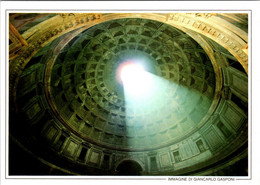 (5 A 7) Italy - Roma Pantheon Ceiling - Monumenti