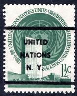 New York 1951 1½c Blue-green Pre-cancelled. - Gebraucht