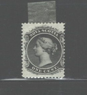 CANADA - NOVA SCOTIA  1860 - 1863 #8 MH FULL GUM - Unused Stamps