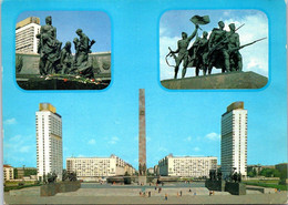 (5 A 8) Russia - Posted - City ? Wityh Monuments - Monumenti