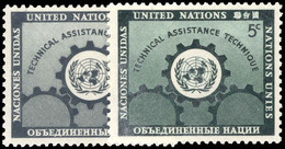 New York 1953 Technical Assistance For Underdeveloped Areas Unmounted Mint. - Ungebraucht