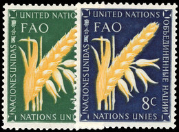 New York 1954 Food And Agriculture Organization Unmounted Mint. - Ungebraucht