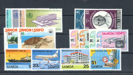 1978, Samoa, 370-71 U.a., ** - Samoa
