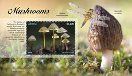 Liberia  2020 Mushrooms  S202101 - Liberia