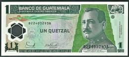 Guatemala - 1 Quetzal - 2006 - Pick: 109 - Unc. - Serie B - Polymer Plastic - Guatemala