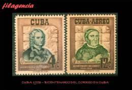 CUBA MINT. 1956-03 BICENTENARIO DEL CORREO EN CUBA - Unused Stamps