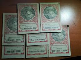 7 Vol. Piccola Biblioteca Scolastica - AA.VV. - La Scuola - 1922 - M - Libri Antichi