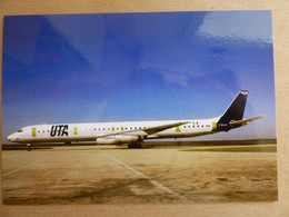 UTA  DC 8-63  F-BOLM   / COLLECTION VIL N° 1558 - 1946-....: Modern Era