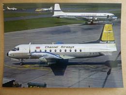 CHANNEL AIRWAYS  HS 748   G-ATEI   / COLLECTION VIL N° 1563 - 1946-....: Modern Era