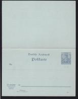 Germania 2/2 Pfg. - Stamped Stationery