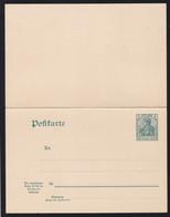 Germania 5/5 Pfg. - Stamped Stationery