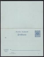 Ziffer 2/2 Pfg. - Stamped Stationery