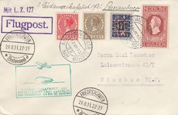 Zeppelin - 1931 - Pays Bas - Lettre Du 19/08/1931 - Vers L'Allemagne - Zeppelin