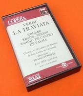 Cassette Audio  Verdi  La Traviata   Acte 1  / Acte 2 (début)  Pathé Marconi Made In France - Cassette