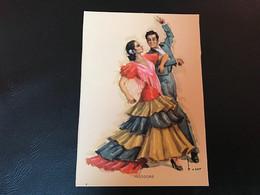 FOLKLORE ESPAÑOL Danses D'Andalouisie - PASODOBLE - Dance
