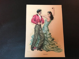 FOLKLORE ESPAÑOL Danses D'Andalouisie - TARANTAS - Dance