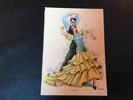 FOLKLORE ESPAÑOL Danses D'Andalouisie - LA CAÑA - Dance