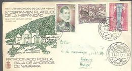 MATASELLOS 1971  PAMPLONA - 1971-80 Storia Postale