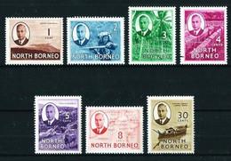 Borneo (Británica) Nº 280/85-289 Nuevo* - North Borneo (...-1963)