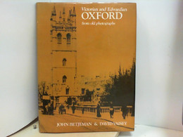 Victorian And Edwardian Oxford From Old Photographs - Non Classificati