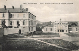 ORSAY : LA MAIRIE ET L'HOSPICE ARCHANGE - Orsay