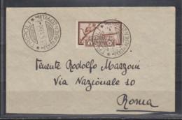 Italienisch-Tripolitanien Zeppelinmarke MiNo. 190 Auf Briefchen O Tripoli /29.5.33/Posta Aera Zeppelin - Tripolitania