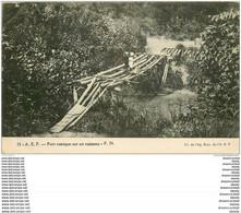 CAMEROUN. Pont Rustique Sur Un Ruisseau. Verso Non Divisé... - Camerun