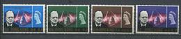 232 HONG KONG 1966 - Yvert 216/19 - Winston Churchill  - Neuf ** (MNH) Sans Trace De Charniere - Unused Stamps