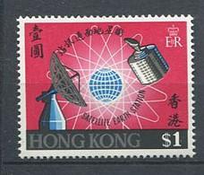 232 HONG KONG 1969 - Yvert 243 - Station Satellite Communication - Neuf ** (MNH) Sans Trace De Charniere - Unused Stamps