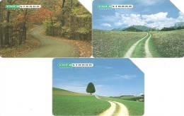 *ITALIA: INFOSTRADA - 1^ Serie Emessa - PAESAGGI* - Serie Completa Usata - Schede GSM, Prepagate & Ricariche