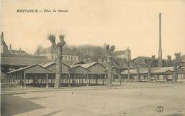 45 MONTARGIS - PLACE DU MARCHE - Montargis