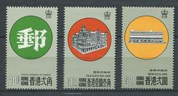 232 HONG KONG 1976 - Yvert 320/22 - Nouveau Batiment Poste - Neuf ** (MNH) Sans Trace De Charniere - Unused Stamps