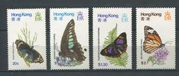 241 HONG KONG 1979 - Yvert 347/50 - Papillon - Neuf ** (MNH) Sans Trace De Charniere - Unused Stamps