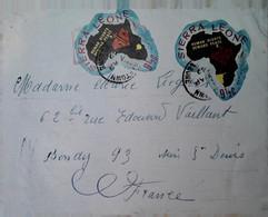 H 16 Devant De Lettre - Sierra Leone (1961-...)