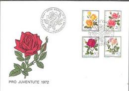 FDC 1972 - Rose