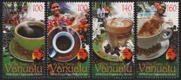 Vanuatu 2011 - Mi-Nr. 1439-1442 ** - MNH - Kaffee / Coffee - Vanuatu (1980-...)