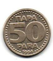 1994 - Jugoslavia 50 Para - Yugoslavia
