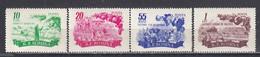 Romania 1955 - Agriculture, Mi-Nr. 1539/42, MNH** - Nuevos