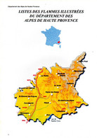 Catalogue Des Flammes Illustrées Et à Texte Des Alpes De Haute Provence - Non Classés