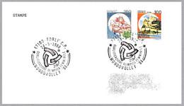 MUNDOVOLLEY'88 - Clasificacion Olimpica Femenina - VOLLEYBALL. Forli 1988 - Pallavolo