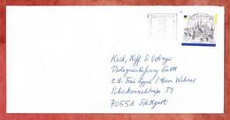 Brief, Bautzen Sk, MS Solidaritaet In Der Not Hochwasseropfer Briefzentrum 65, Buchloe Nach Stuttgart 2002 (5314) - Briefe U. Dokumente