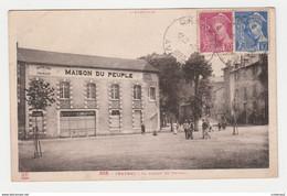 12 CRANSAC Vers Decazeville N°358 De Labouche La Maison Du Peuple Enfants Homme à Vélo L'Aveyron En 1939 - Decazeville