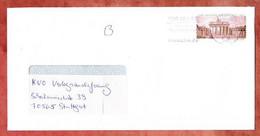 Brief, Langhans Sk, MS CBM Briefzentrum 64, Griesheim Nach Stuttgart 2008 (5318) - Briefe U. Dokumente