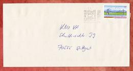 Brief, Salzachbruecke Sk, MS Wiesbaden Briefzentrum 65,  Nach Stuttgart 2004 (5319) - Briefe U. Dokumente