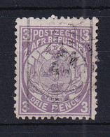 Transvaal: 1885   Flags - Surcharge    SG192   ½d  On 3d   Used - Transvaal (1870-1909)