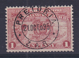 Transvaal: 1895   Introduction Of Penny Postage    SG215c   1d     Used - Transvaal (1870-1909)