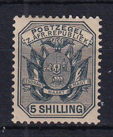 Transvaal: 1895/96   Flags - Wagon With Pole   SG212    5/-      MH - Transvaal (1870-1909)